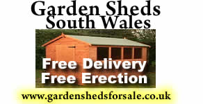 Garden sheds south wales